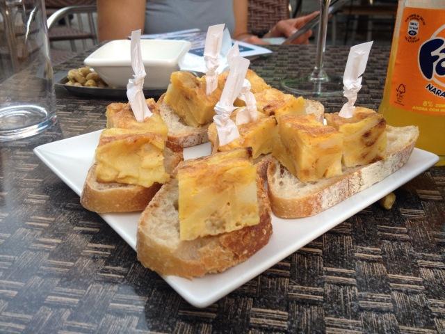 Tortilla Patata in Villagarcia de Arousa