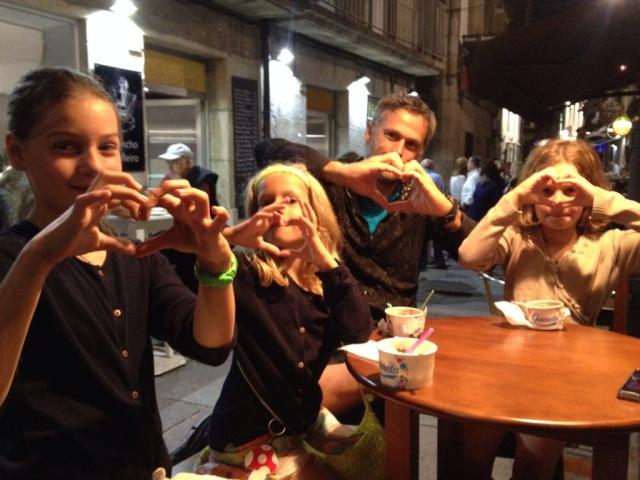 Herzliche Grüsse von der Auszeit mit Kindern Crew aus Baiona