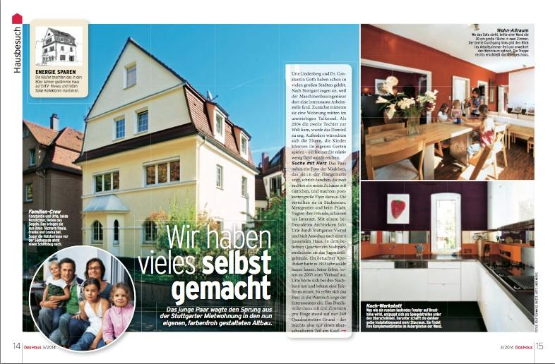 Das Haus Artikel Constantin Goth 2014