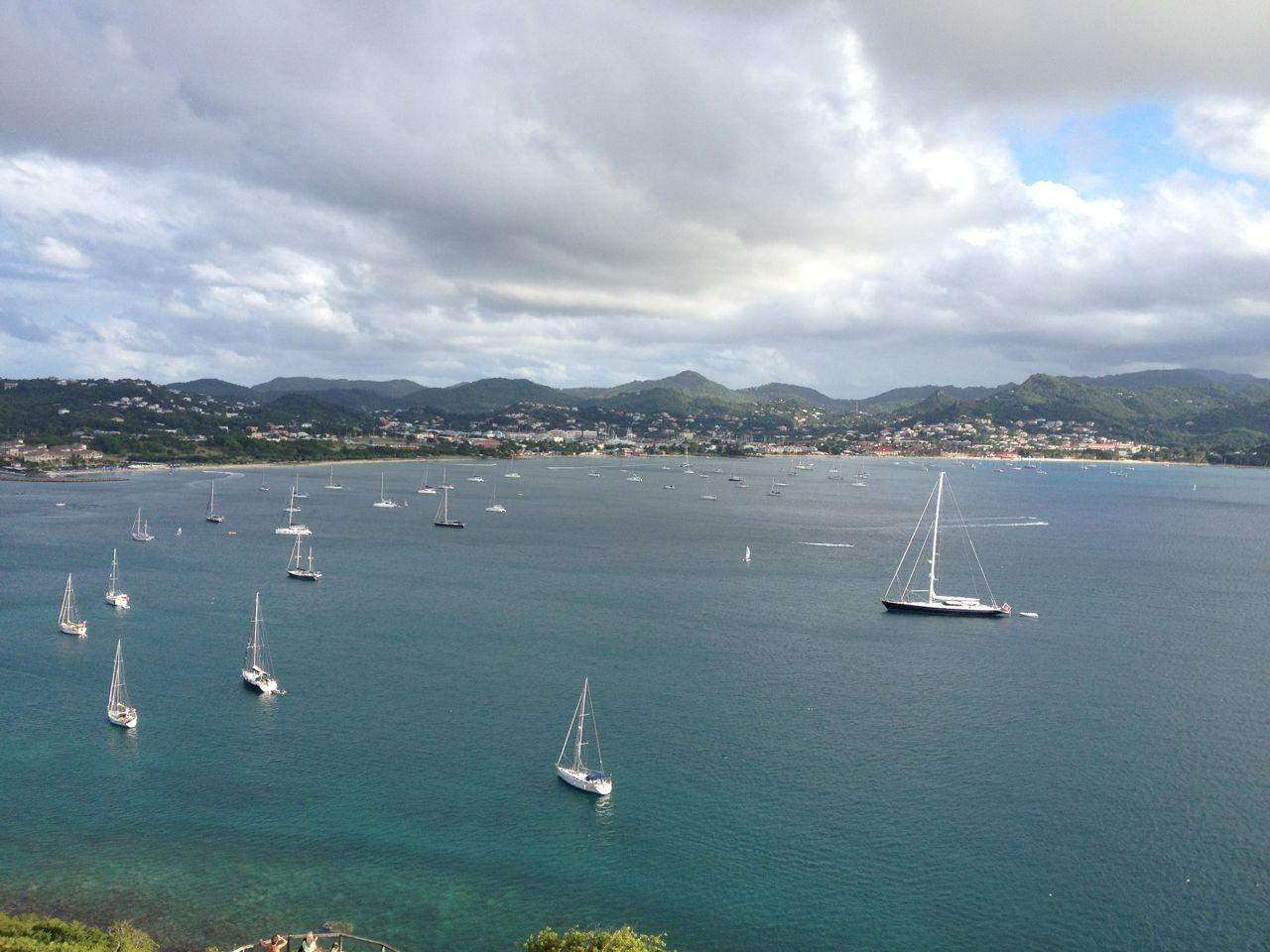 Die hapa na sasa in der Rodney Bay St. Lucia