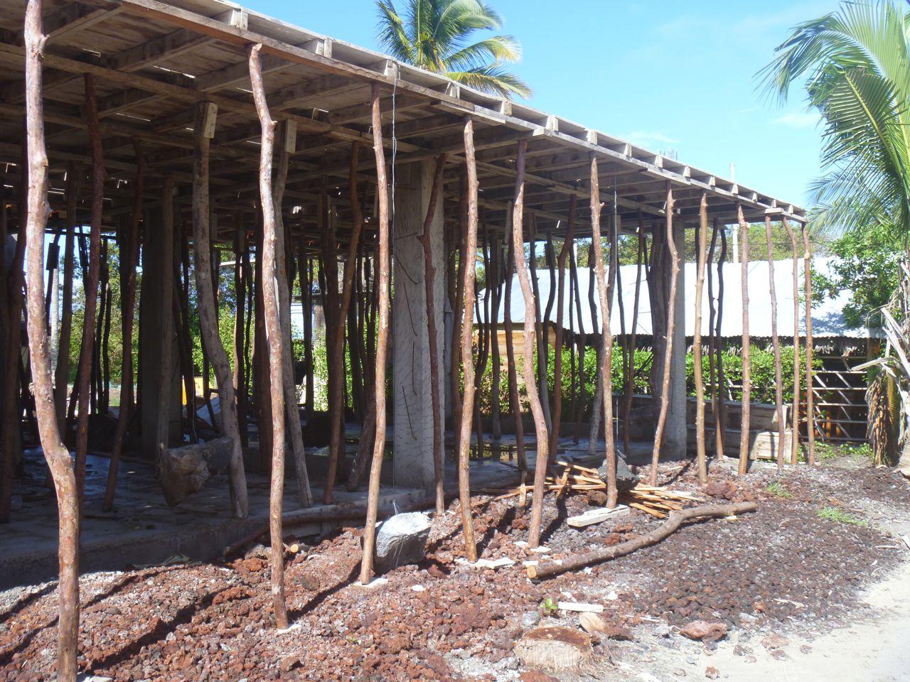 Baustelle auf Isabela Galapagos