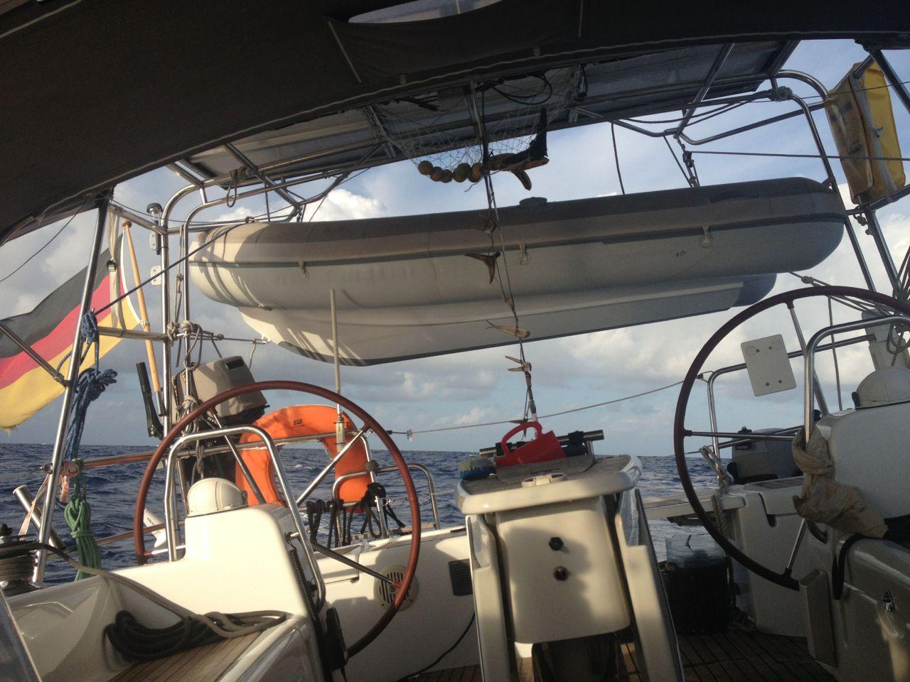 Segeln auf dem Pazifik mit der hapa na sasa