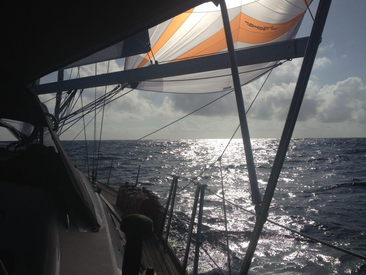 Wingaker fahren auf der hapa na sasa