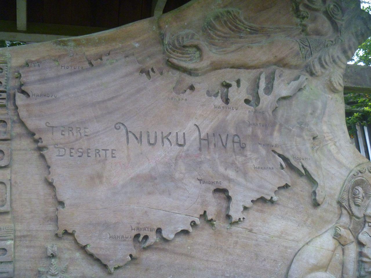 Nuku Hiva ist die zweitgrösste Insel der Marquesasa