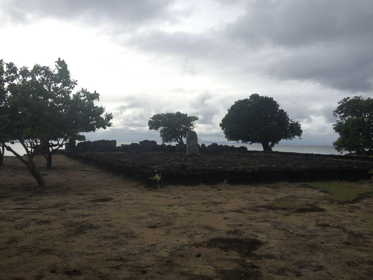 Marea eine mystische Tempelstätte in Französisch Polynesien