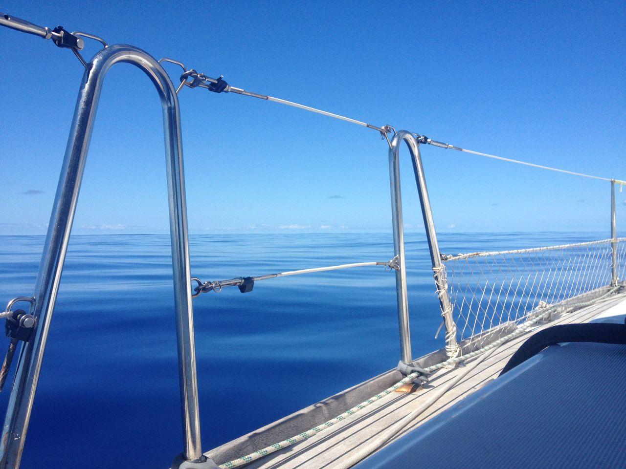 Absolute Flaute auf dem Weg nach Tonga mit der hapa na sasa