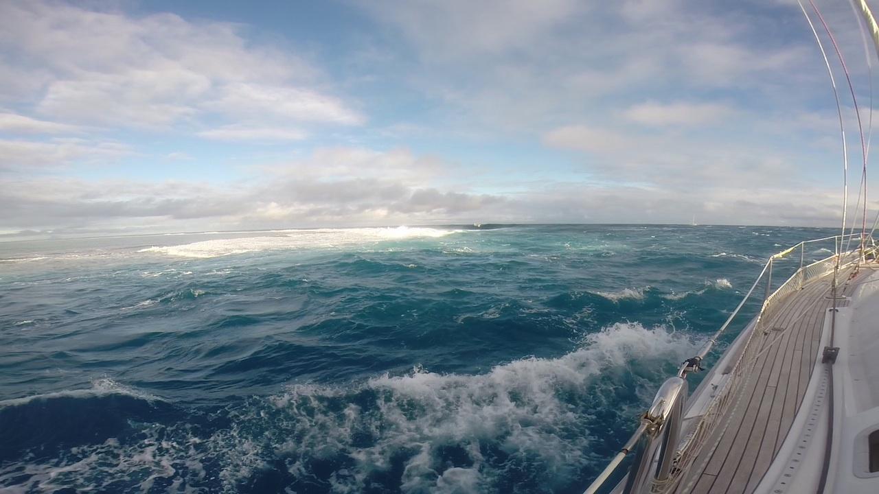 Passausfahrt mit der hapa na sasa aus Maupiti in Französisch Polynesien