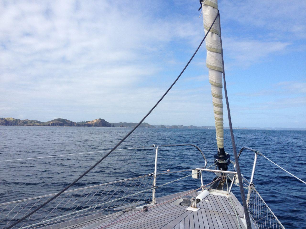 Die Einfahrt in die Bay of Islands im Norden von Neusseland