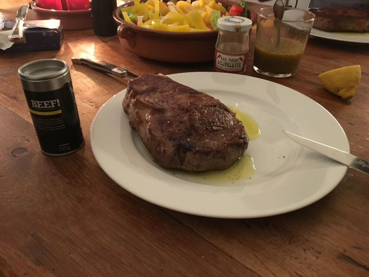 Lecker Steak bei einem sehr guten Freund in Stuttgart