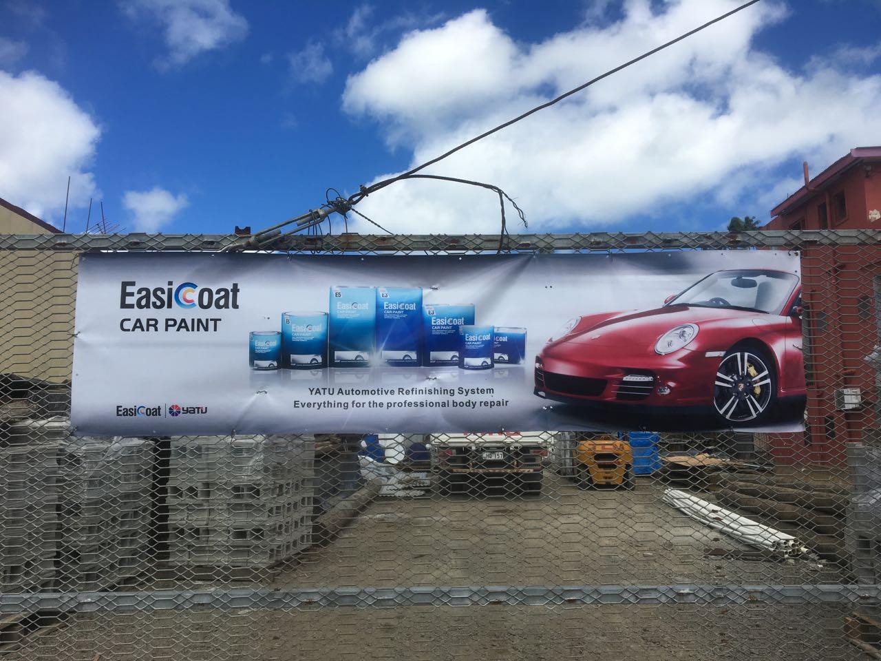 Neuer Autoanstrich