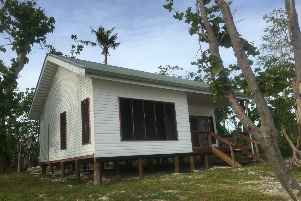 Häuser des Resorts auf Wailagilala