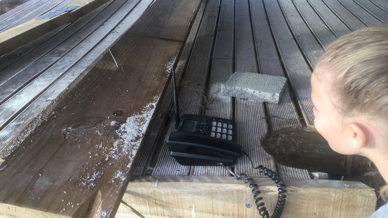 Wir finden dieses Mobiltelefon auf Wailagilala