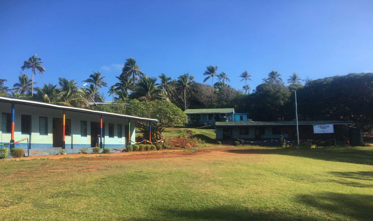 Die Schule auf Komo in Fidschi