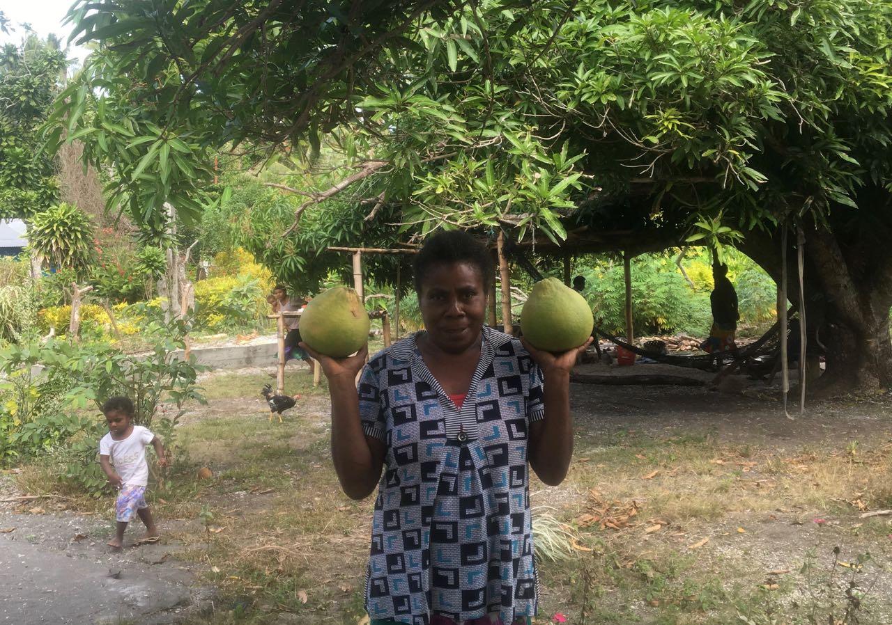 Bennigtons Pomelos, die Besten seit den Marquesas
