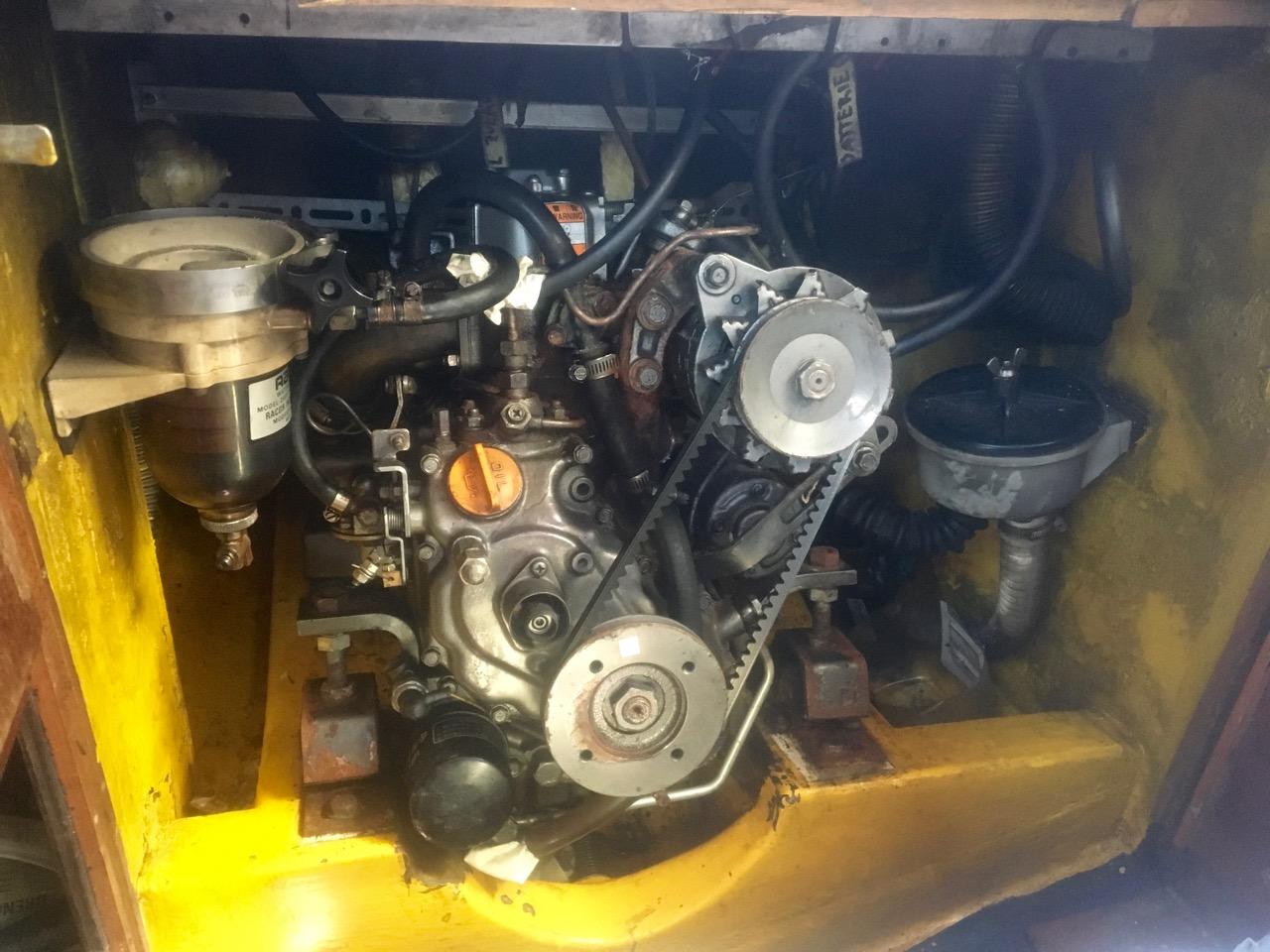 Der Motor der Phoebe lässt sich im Notfall mit einer Kurbel per Hand starten