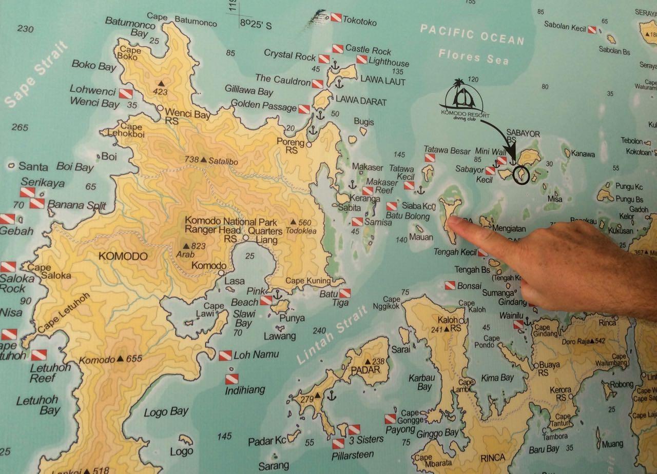 Die Zahl der Tauchspots in Komodo Indonesien ist einfach beeindruckend
