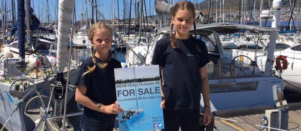 Unsere Oceanis 46 ist auf www.oceanis-46-for-sale.com zu verkaufen