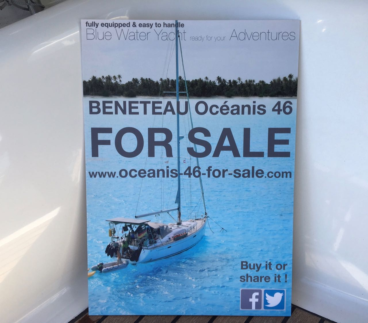 oceanis-46-for-sale.com our Oceanis 46 is up for Sale